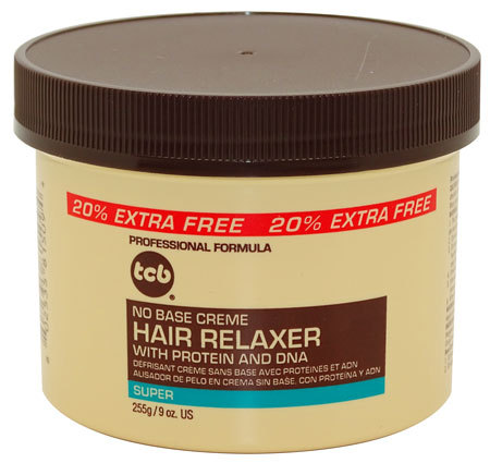 TCB No Base Creme Hair Relaxer Super 255g