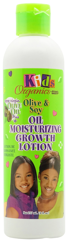 Africas Best Kids Organics Olive & Soy Oil Moisturizing Growth Lotion 237ml