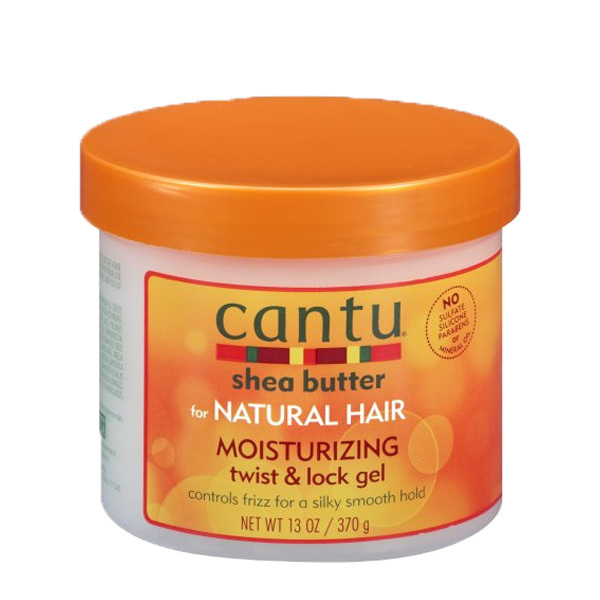 Cantu Shea Butter Moisturizing Twist & Lock Gel for Natural Hair 13oz 370g