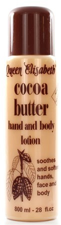 Queen Elisabeth Cocoa Butter Hand and Body Lotion 800ml