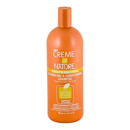 Creme of Nature Professional Sunflower & Coconut Detangling Conditioning Shampoo 946ml